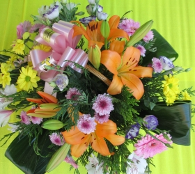 Cesta flor variada