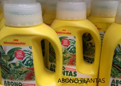 Abono Plantas