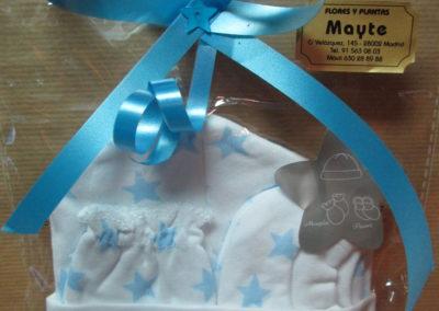 Conjunto bebé estrellas azules
