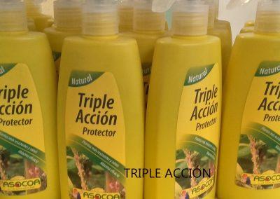 Triple acción